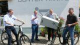 Leimen liefert – Gewinner-Ziehung durch Leimens Ehrenbürger Günter Haritz
