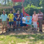 Kindergarten St. Georg verabschiedet zwei FSJ Praktikanten und Frau Kunath