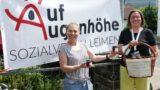 190 Hofflohmärkte in Leimen – </br>Sozialverein erfreut über 222,- € Spende