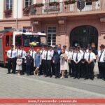 Feuerwehrhochzeit in Leimen