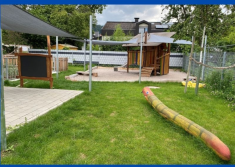 Nußlocher Friedrich-Fröbel-Kindergarten mit neugestaltetem Außenbereich
