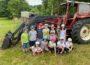 Mauritius-Kindergarten Schulanfänger wanderten zum Nußlocher Ziegenhof