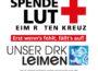 Das DRK Leimen und der DRK-Blutspendedienst rufen zur Blutspende auf