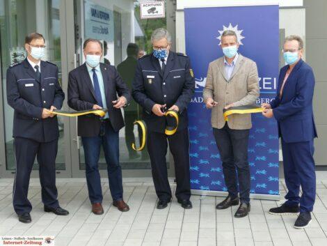 Leimens Polizeiposten nun auch offiziell seiner Bestimmung übergeben