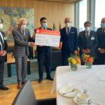 Sammlung währrend Live-Sendung: Aramäer spenden 26.000 € für Hochwasser-Opfer