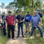 Zustand von Wald und Dünen: Interkommunale Wanderung mit Jürgen Kretz