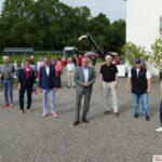 Erfolgreicher Wahlkampfauftakt der SPD beim Frühschoppen im Weingut Adam Müller