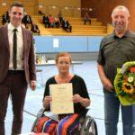 Verabschiedung der Nußlocher Gemeinderätin Susanne Wenz