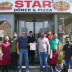 10 Jahre Star2 Döner & Pizza Leimen: 1.700 € Jubiläums-Tagesumsatz wird gespendet