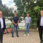 Nach dem Lockdown: FDP-Politiker im Austausch mit Nußlocher Gastronomie