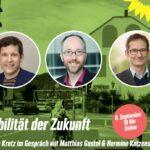 Mobilität der Zukunft - Grüne diskutieren online am 6. Sept. um 19 Uhr