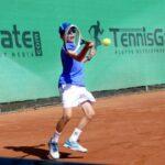 10-jähriger Leimener Samuel Beisse wird badischer Tennismeister U11