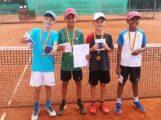 Gratulation: Leimen Tennis-Jungs holen Badische Mannschafts-Meisterschaft