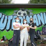 """Schulsport-Stafette an der Realschule:""""Jugend trainiert für Olympia-Fußball"""""""