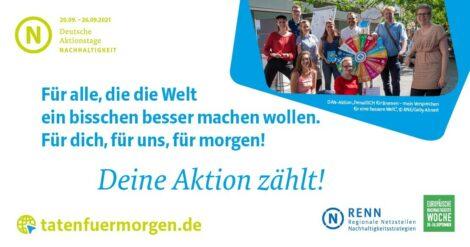 Deutsche Aktionstage Nachhaltigkeit in Sandhausen