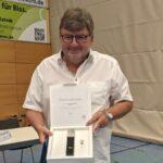Nußlocher Gemeinderat Rolf Kazmaier für 10 Jahre Ehrenamt geehrt