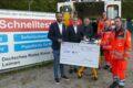 Leimener Corona-Schnelltest-Zentrum spendet dem Roten Kreuz 2000,- €