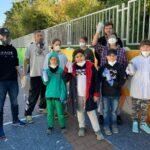 """Graffiti-Aktion """"Color your block"""" - Fasanerie-Unterführung wird zum Blickfang"""
