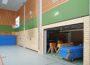 Friedrich-Ebert-Schulzentrum: Acht neue Geräteraumtore installiert