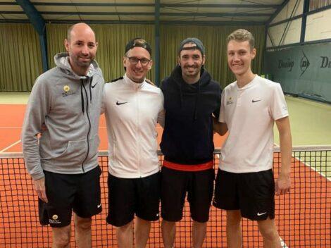 Tennic-Club Sandhausen – Winterhalle Medenrunde: Spiel. Satz. Sieg in Altlußheim