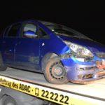 Nußloch: Beim Abbiegen mit Mitsubishi-Fahrerin kollidiert - Zwei Personen verletzt